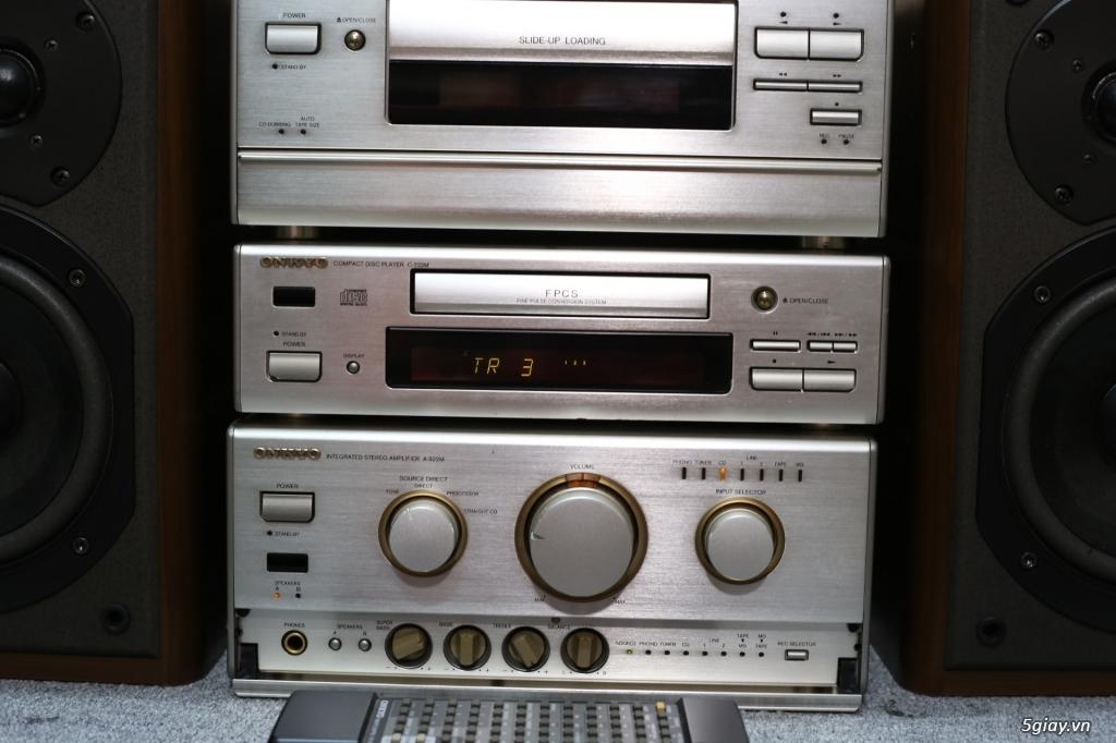 Đầu máy nghe nhạc MINI Nhật đủ các hiệu: Denon, Onkyo, Pioneer, Sony, Sansui, Kenwood - 35