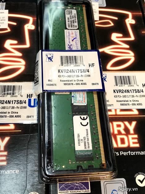 Bộ nhớ trong RAM máy tính bàn DDR4, 4G PC4, 2666Mhz, zin tháo máy. - 1
