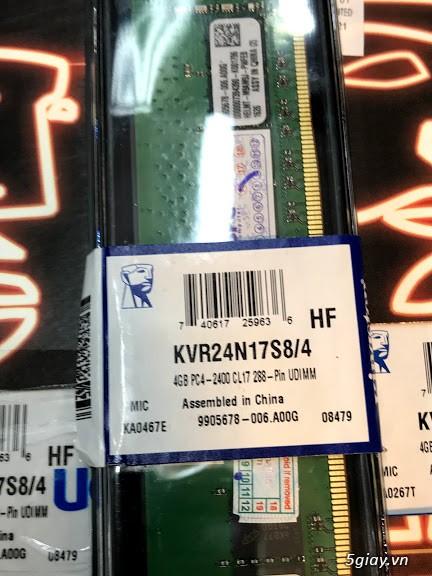 Bộ nhớ trong RAM máy tính bàn DDR4, 4G PC4, 2666Mhz, zin tháo máy.