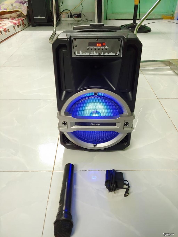 Sell Loa kéo bluetooth karaoke Enkor L0810K TGDĐ còn BH dài - 1