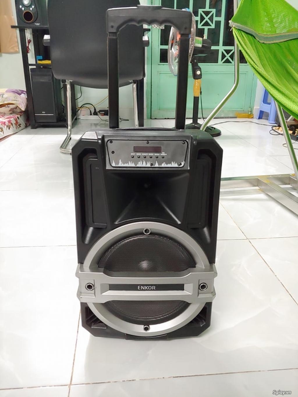 Sell Loa kéo bluetooth karaoke Enkor L0810K TGDĐ còn BH dài