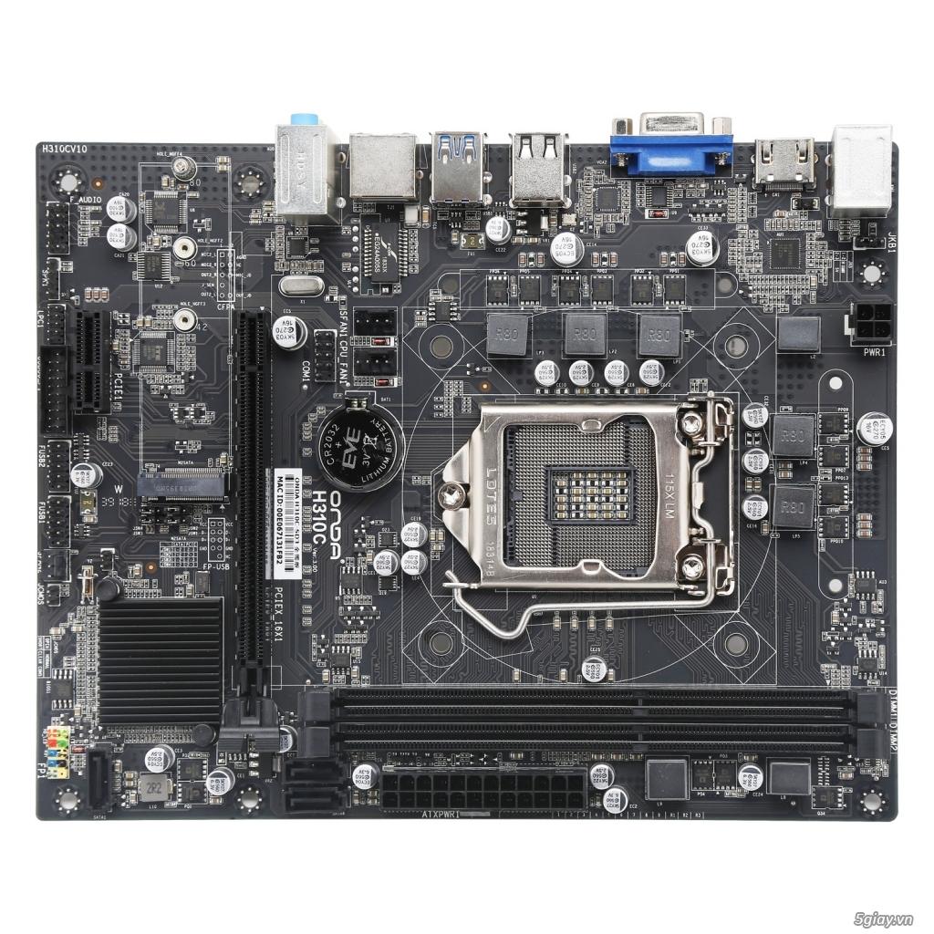 bán combo i3-8100 + H310 + 16G/32G - 1