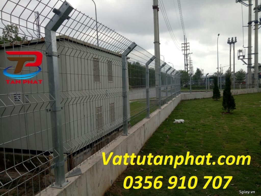 Hàng rào lưới thép hàn, hàng rào thép mạ kẽm D4,D6, hàng rào bảo vệ - 2