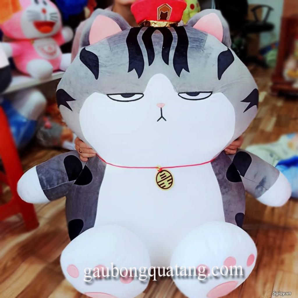 Gấu Bông Mèo Hoàng Thượng Chân To.