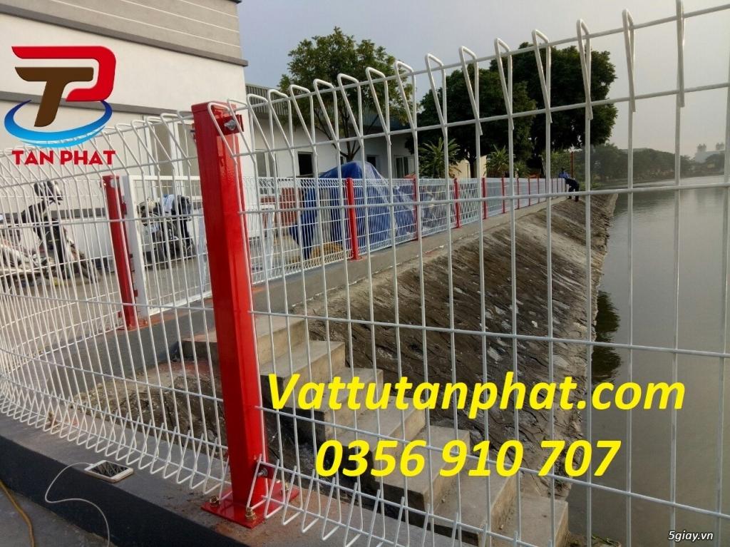 Hàng rào lưới thép hàn, hàng rào thép mạ kẽm D4,D6, hàng rào bảo vệ - 1