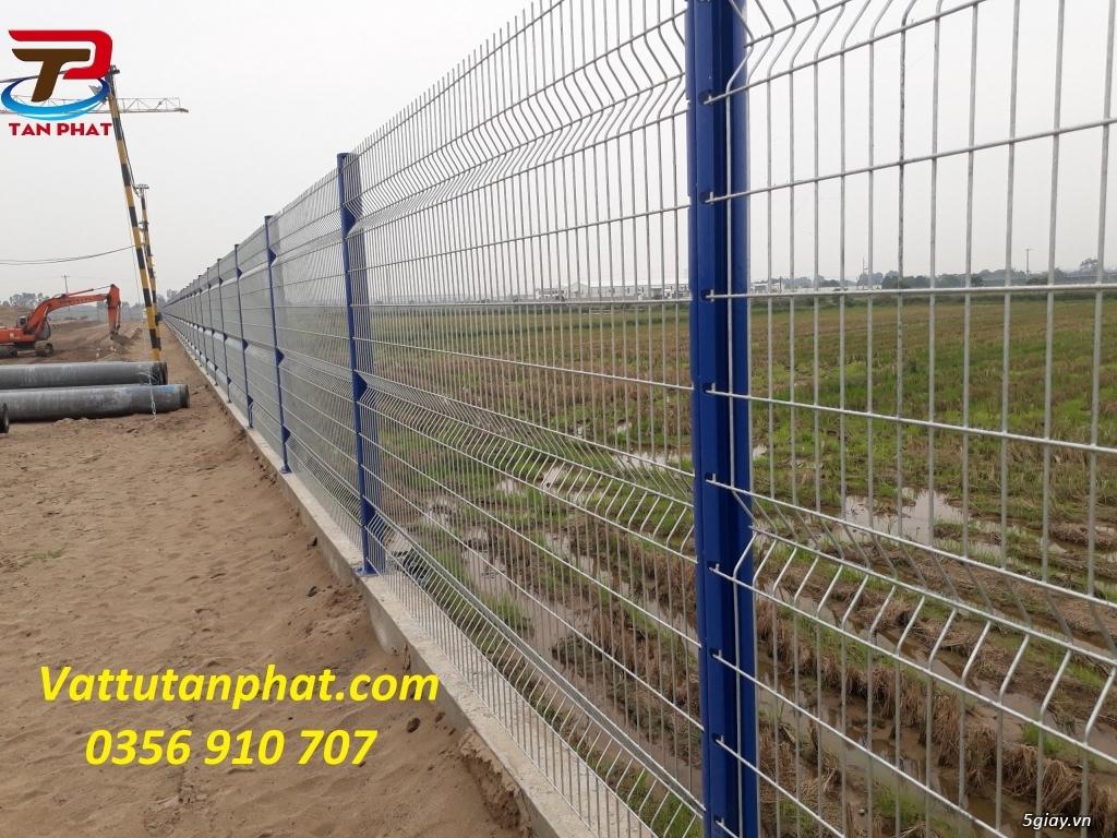Hàng rào lưới thép sơn tĩnh điện, hàng rào B40, hàng rào thép - 7