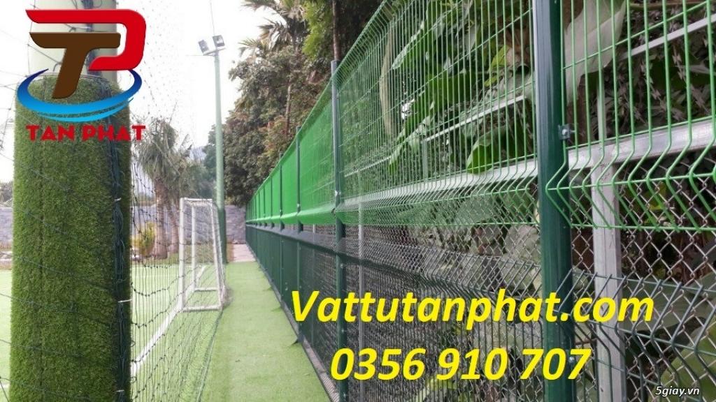 Hàng rào lưới thép hàn, hàng rào thép mạ kẽm D4,D6, hàng rào bảo vệ - 3