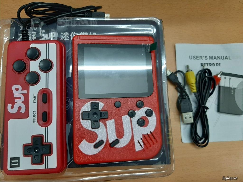 Máy chơi các game cổ cầm tay 400 trò mới 100%, Mario, Contra, PacMan,Bomb... - 1
