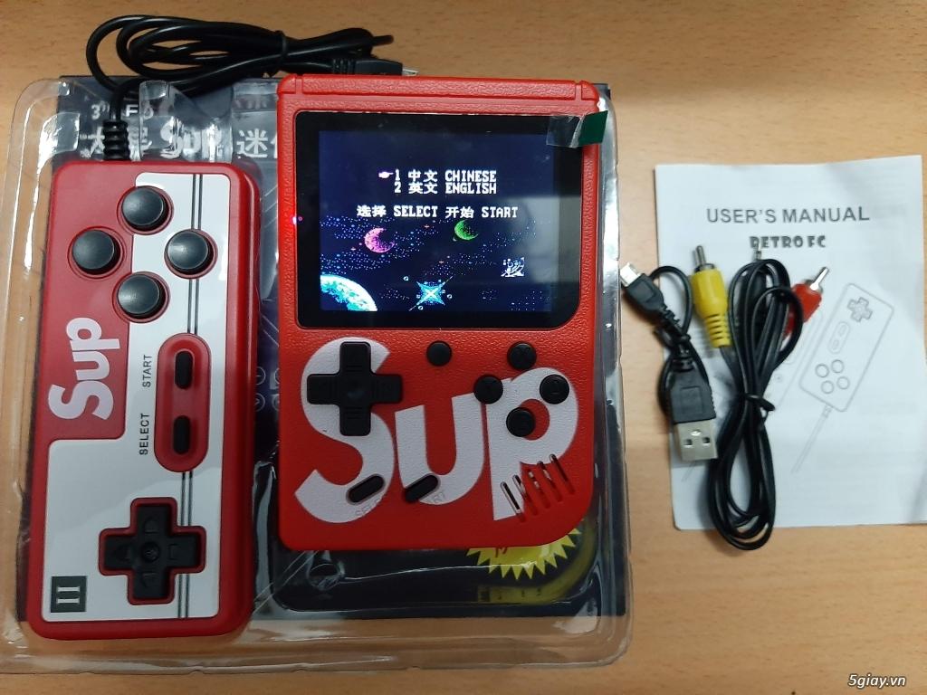 Máy chơi các game cổ cầm tay 400 trò mới 100%, Mario, Contra, PacMan,Bomb... - 2