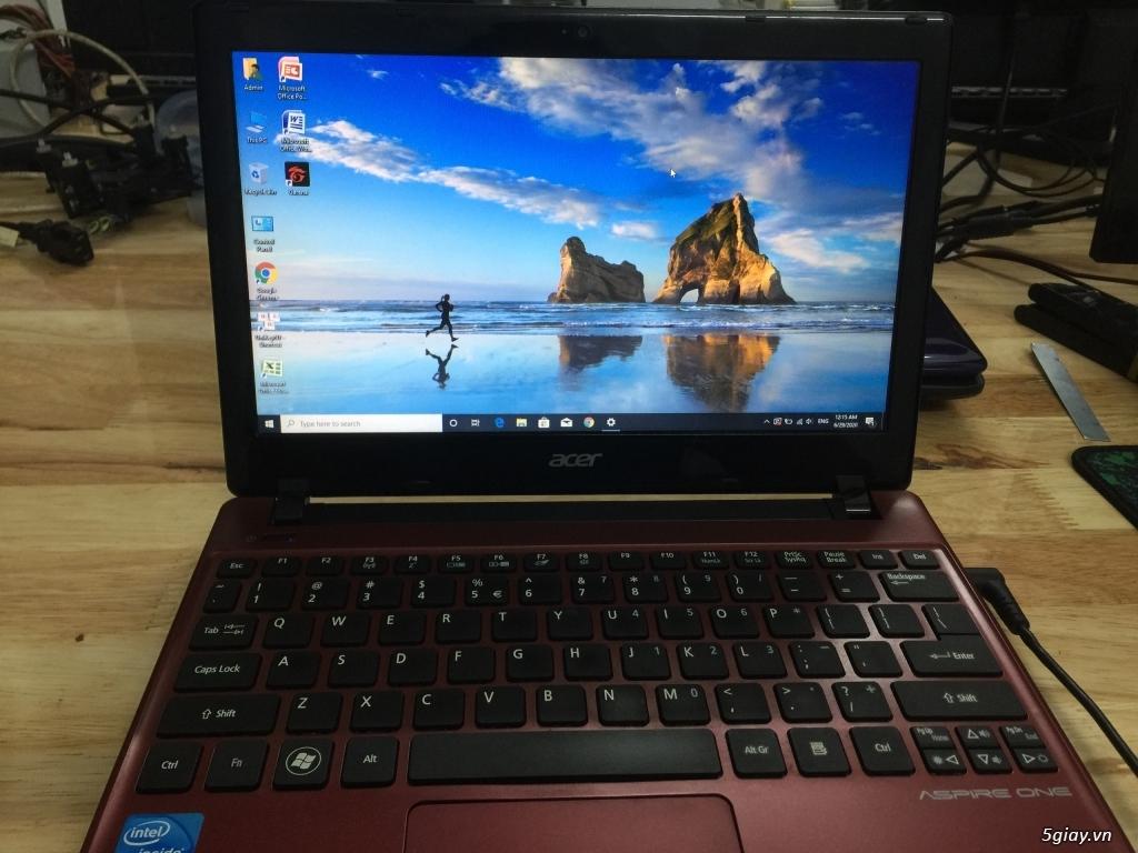 Laptop Acer Aspire AO756 nhẹ nhàng, nhỏ gọn, tiện lợi - 3