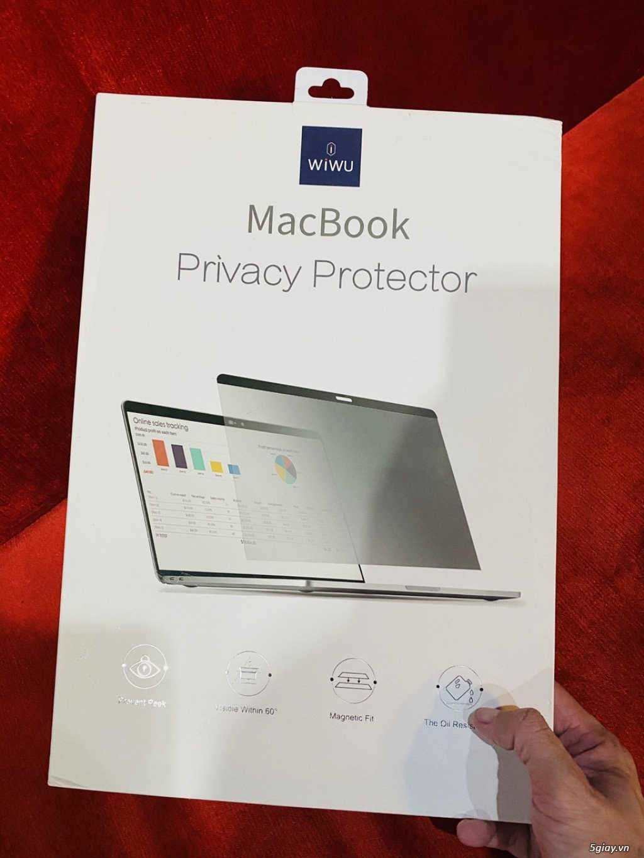 Cường lực chống nhìn trộm cho Macbook - 4