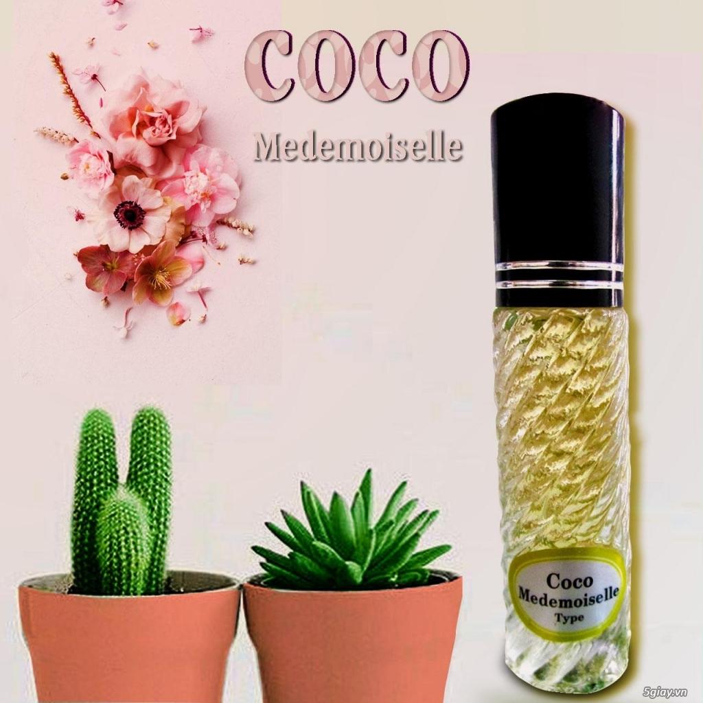 Nước hoa tinh dầu dạng lăn với 200 mùi hương giao sĩ và lẻ 0931238978 - 1