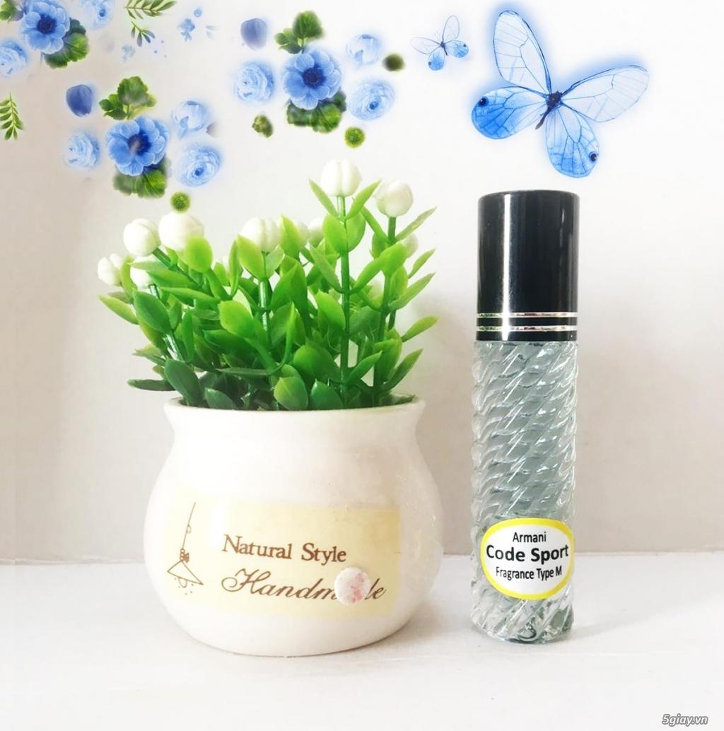 Nước hoa tinh dầu dạng lăn với 200 mùi hương giao sĩ và lẻ 0931238978