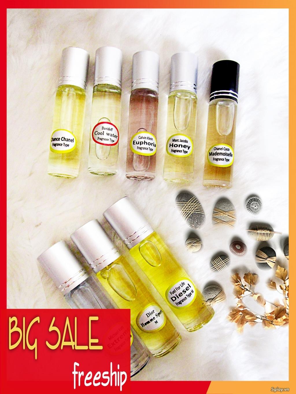 Nước hoa tinh dầu dạng lăn với 200 mùi hương giao sĩ và lẻ 0931238978 - 3