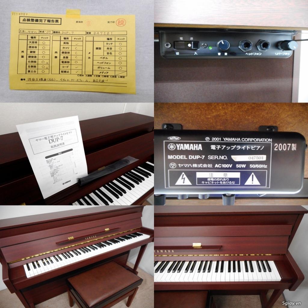 Đàn Piano Yamaha Dup 7 Nhật chính hãng - 4