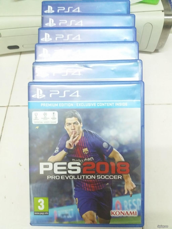 Pes 18 Fullbox cho PS4