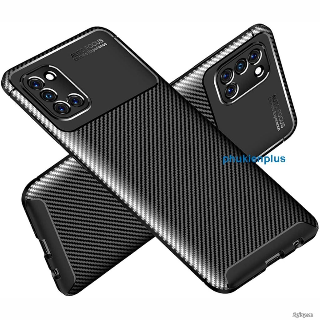 Thiết kế mới với ốp lưng Flim Carbon sang chảnh Samsung Galaxy A31 - 4