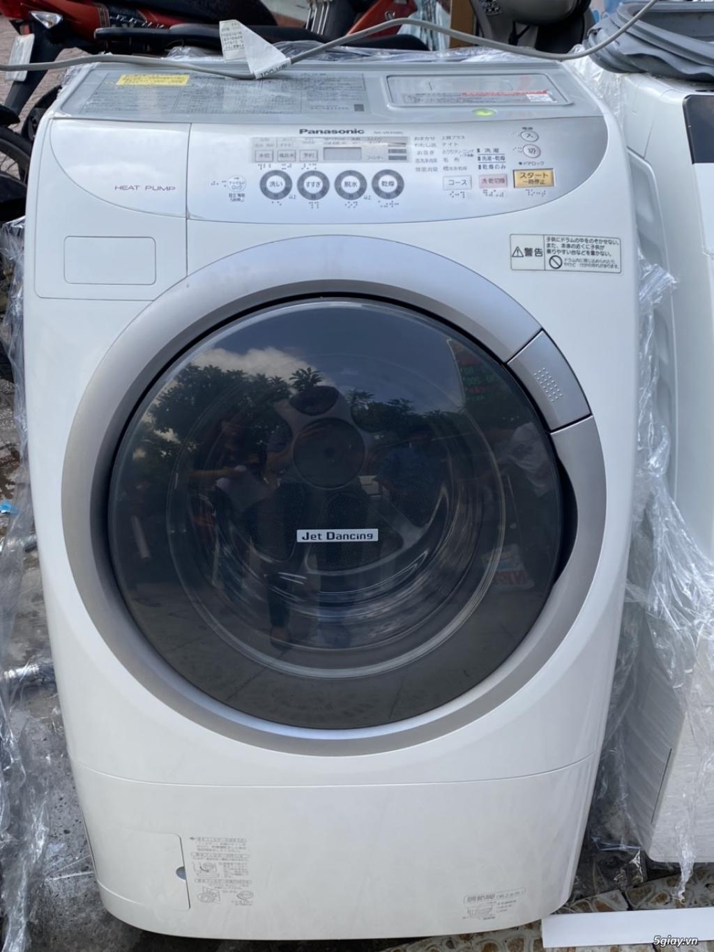 Máy giặt cũ nội địa Panasonic NA-VR3500L sấy BLOCK, tiết kiệm điện
