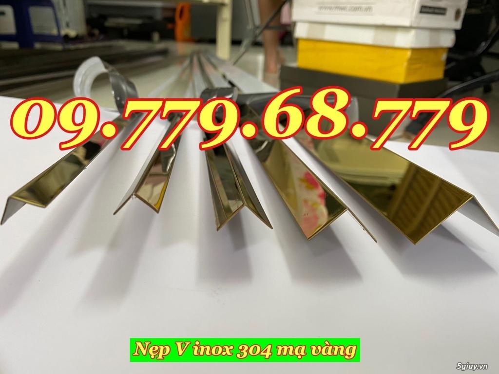 Nẹp V inox trang trí - Nẹp V inox 304 trang trí - V inox 304