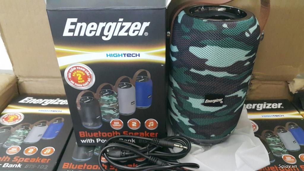 Loa di động kiêm sạc dự phòng Energizer, mới 100% End: 23h 28/04/21 - 3