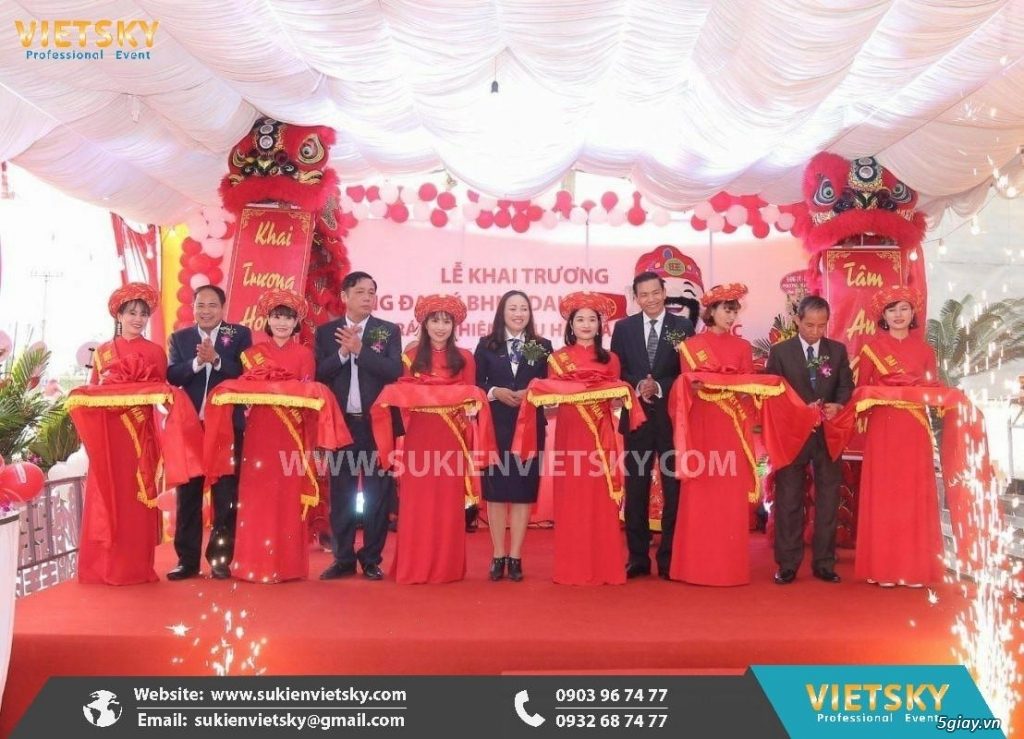 Tổ chức lễ khai trương chuyên nghiệp tại TP HCM - 2