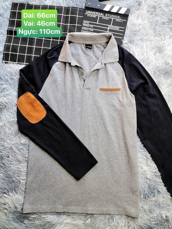 Áo thun nam tay dài đồng giá 70k Size L -XL - 6