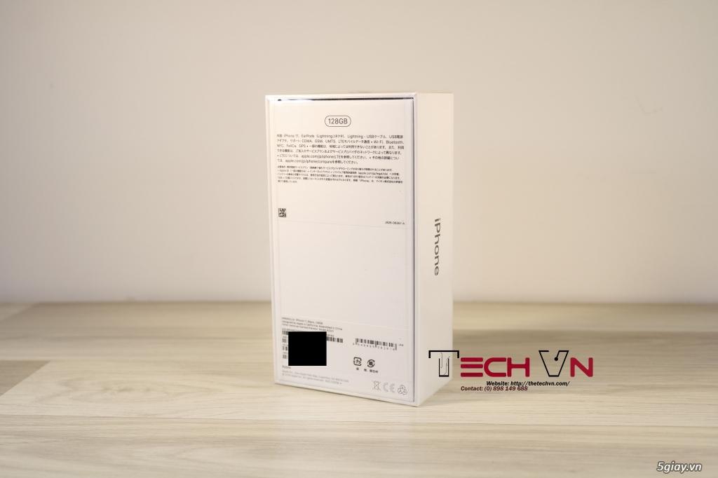 Iphone 11 128GB Black new seal, JA, hàng quốc tế. - 1