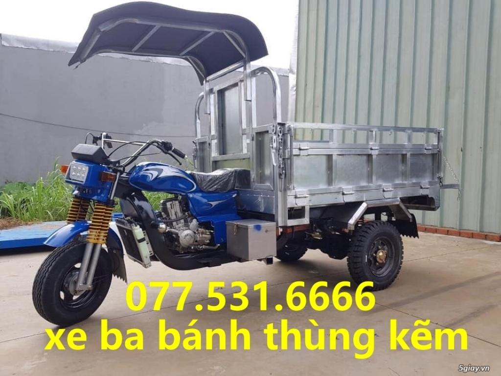 Bán xe hoa lâm, xe ba gác chở hàng giá rẻ nhất thị trường 0775316666