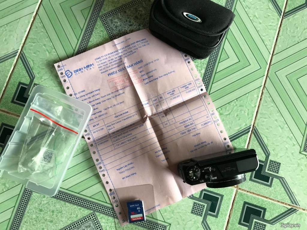 Cần bán Canon G7x mark ii còn bảo hành