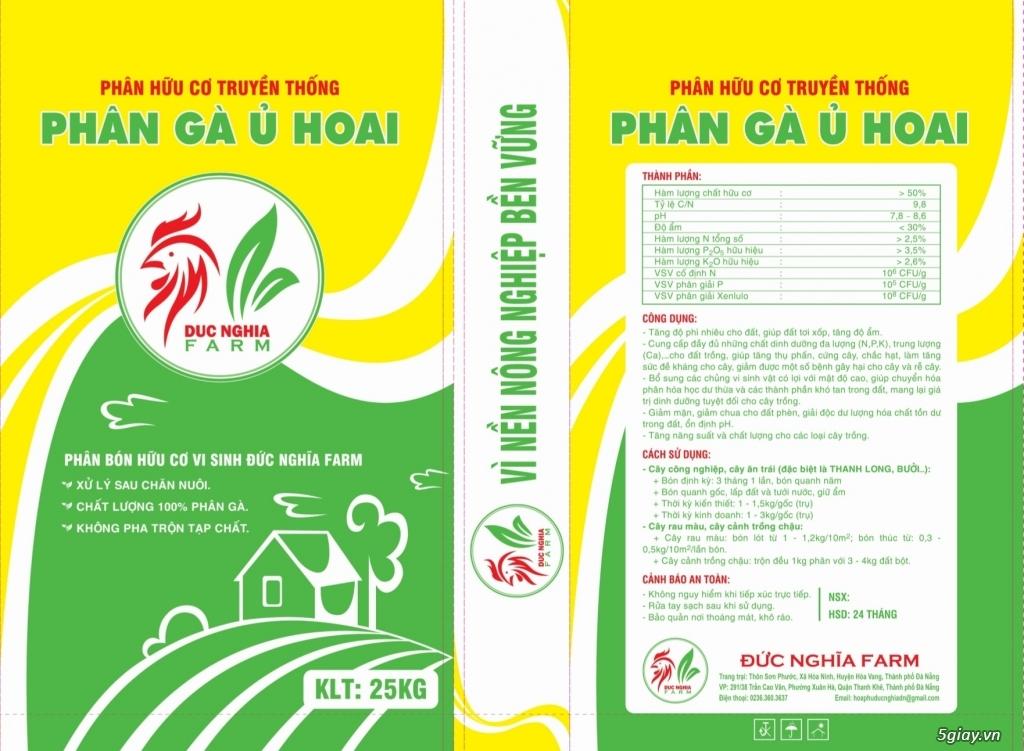 Cung cấp sỉ và lẻ phân gà ủ hoai tại Đà Nẵng (Mr Cần:0907.556.354) - 1