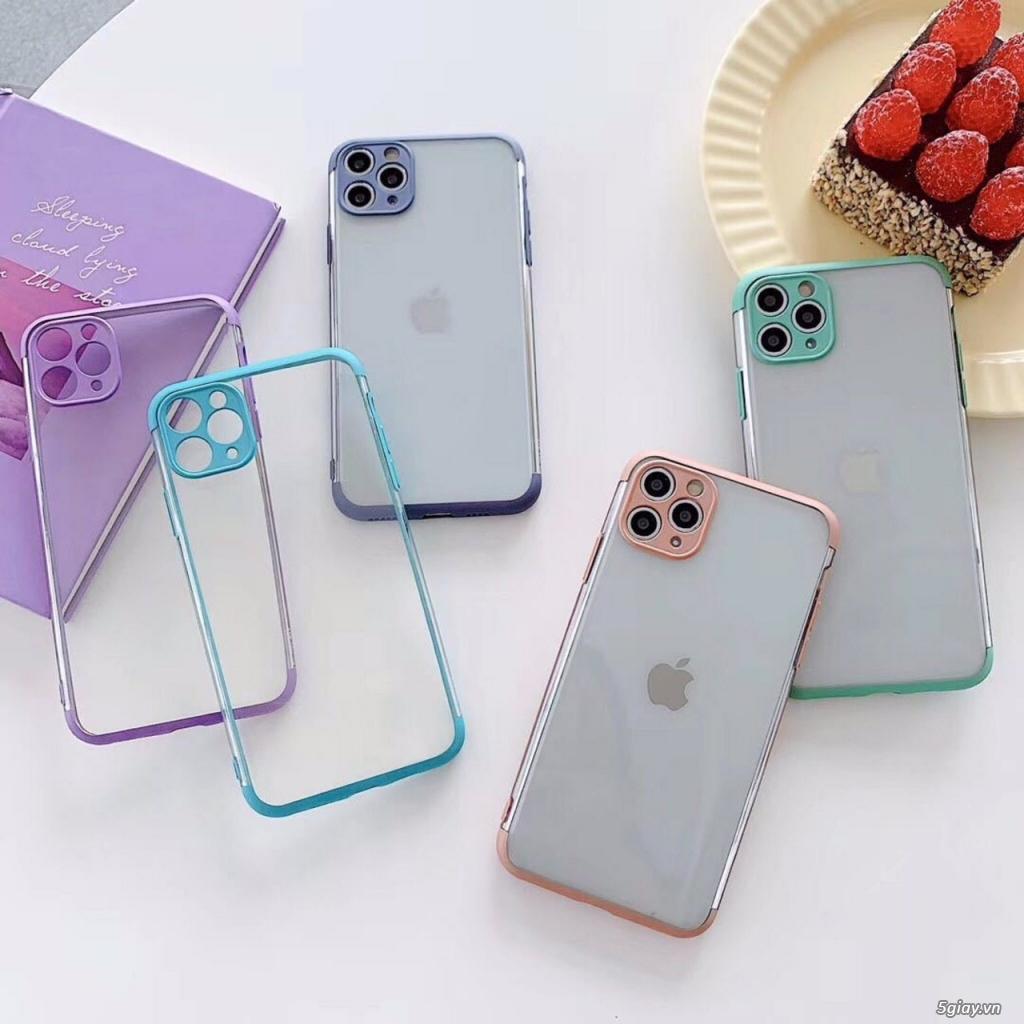 Ốp Lưng Viền Màu Nhám iPhone - Đơn giản mà đẹp xuất sắc - 1