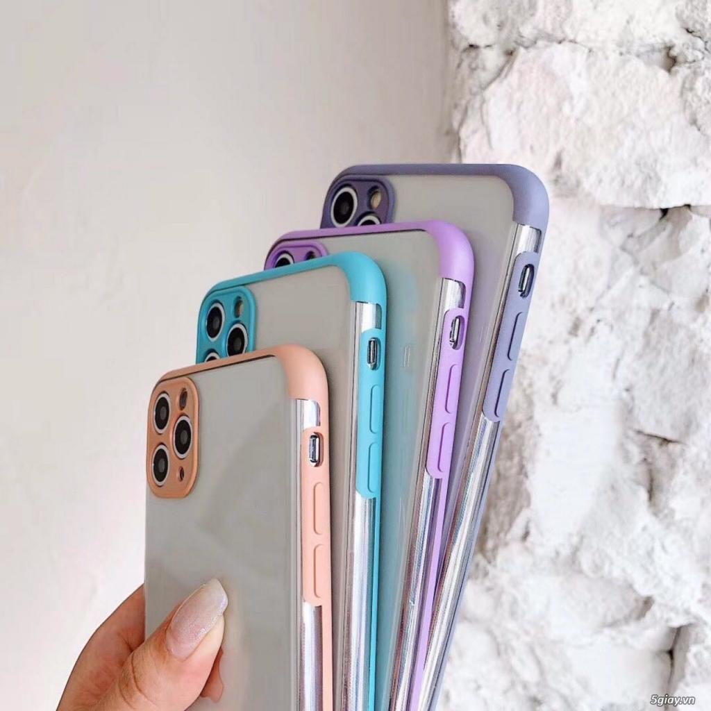 Ốp Lưng Viền Màu Nhám iPhone - Đơn giản mà đẹp xuất sắc