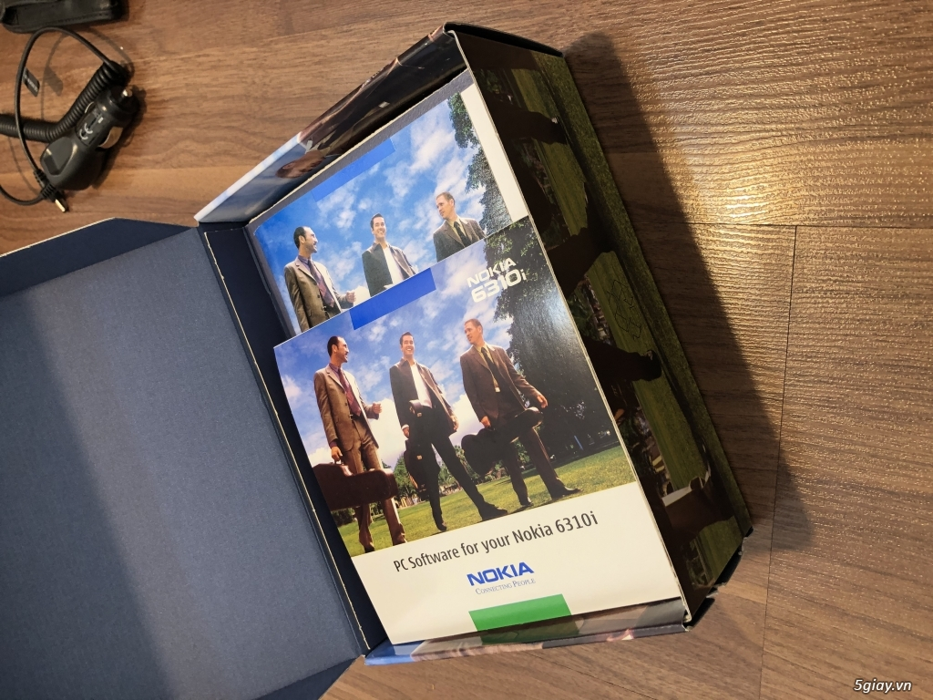 Nokia 6310i Silver Germany Brandnew Fullbox chưa sd, hàng ST Kinh điển