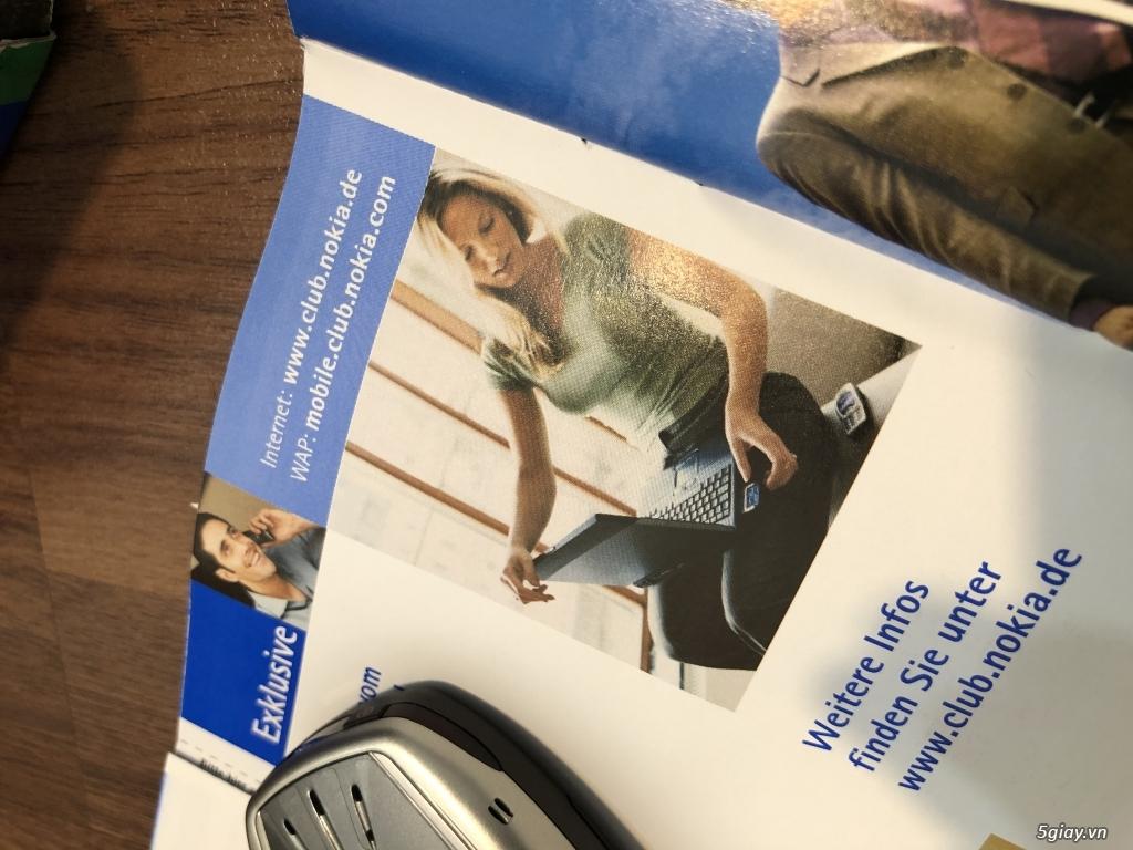 Nokia 6310i Silver Germany Brandnew Fullbox chưa sd, hàng ST Kinh điển - 24