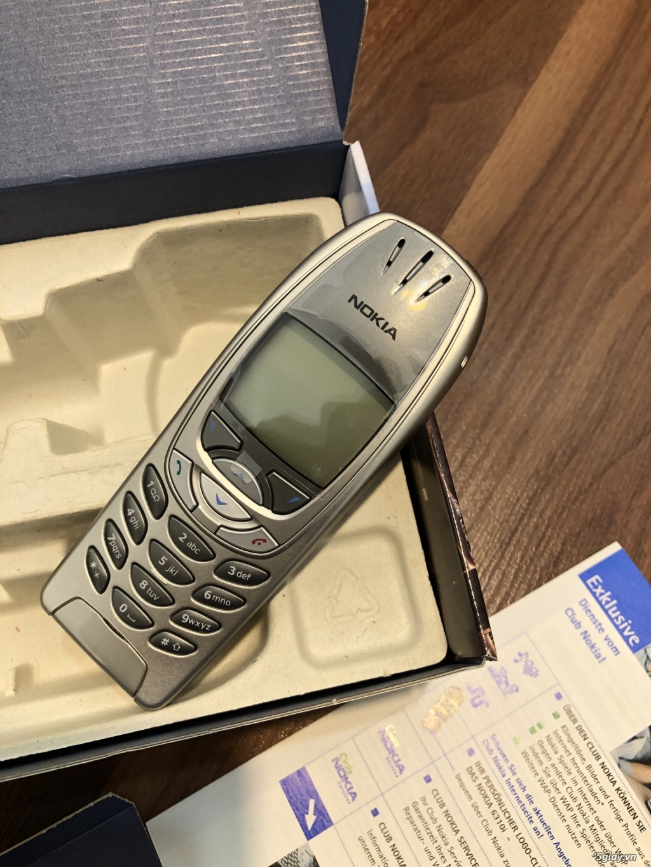 Nokia 6310i Silver Germany Brandnew Fullbox chưa sd, hàng ST Kinh điển - 4