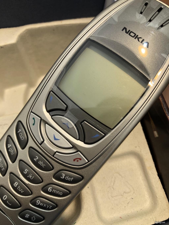 Nokia 6310i Silver Germany Brandnew Fullbox chưa sd, hàng ST Kinh điển - 6