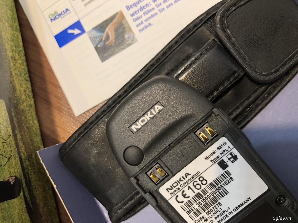 Nokia 6310i Silver Germany Brandnew Fullbox chưa sd, hàng ST Kinh điển - 72