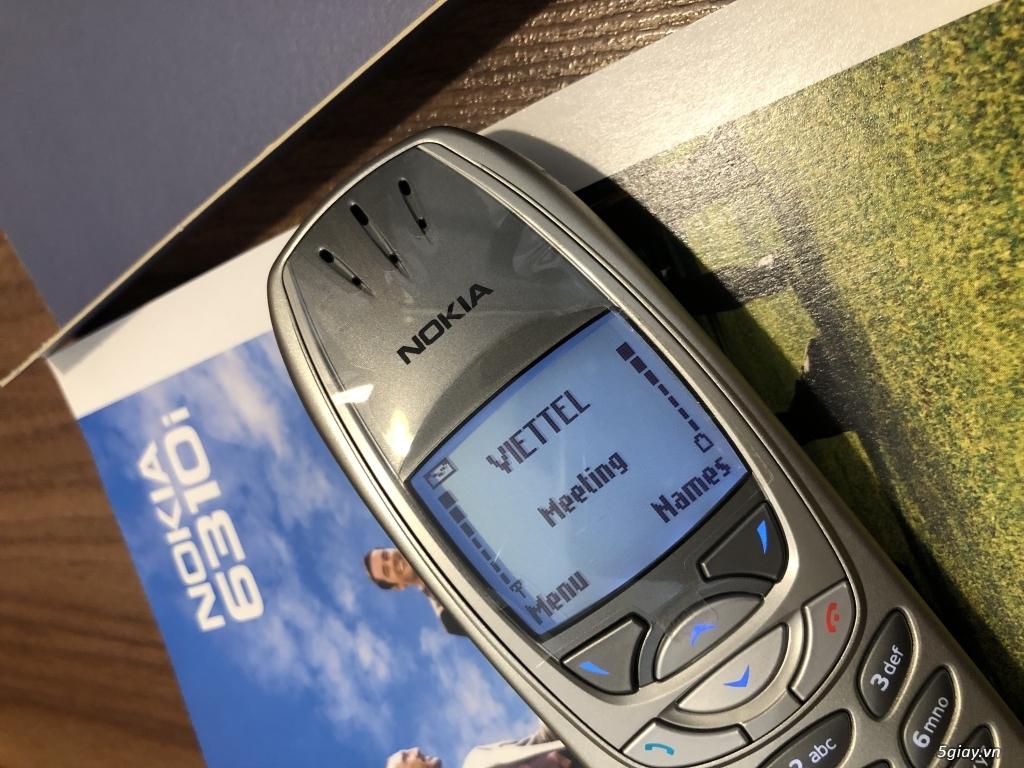 Nokia 6310i Silver Germany Brandnew Fullbox chưa sd, hàng ST Kinh điển - 46