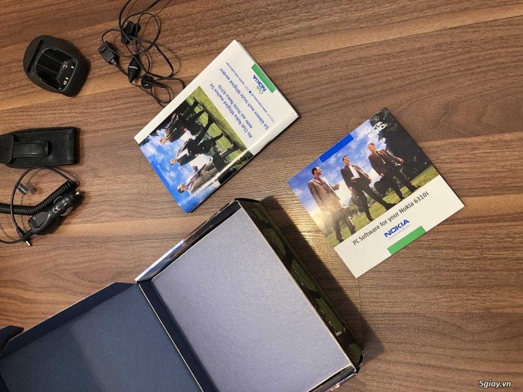 Nokia 6310i Silver Germany Brandnew Fullbox chưa sd, hàng ST Kinh điển - 2
