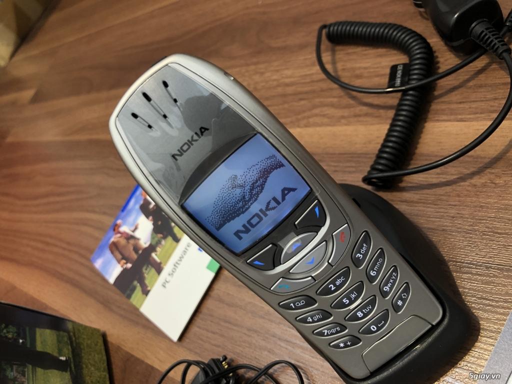 Nokia 6310i Silver Germany Brandnew Fullbox chưa sd, hàng ST Kinh điển - 36