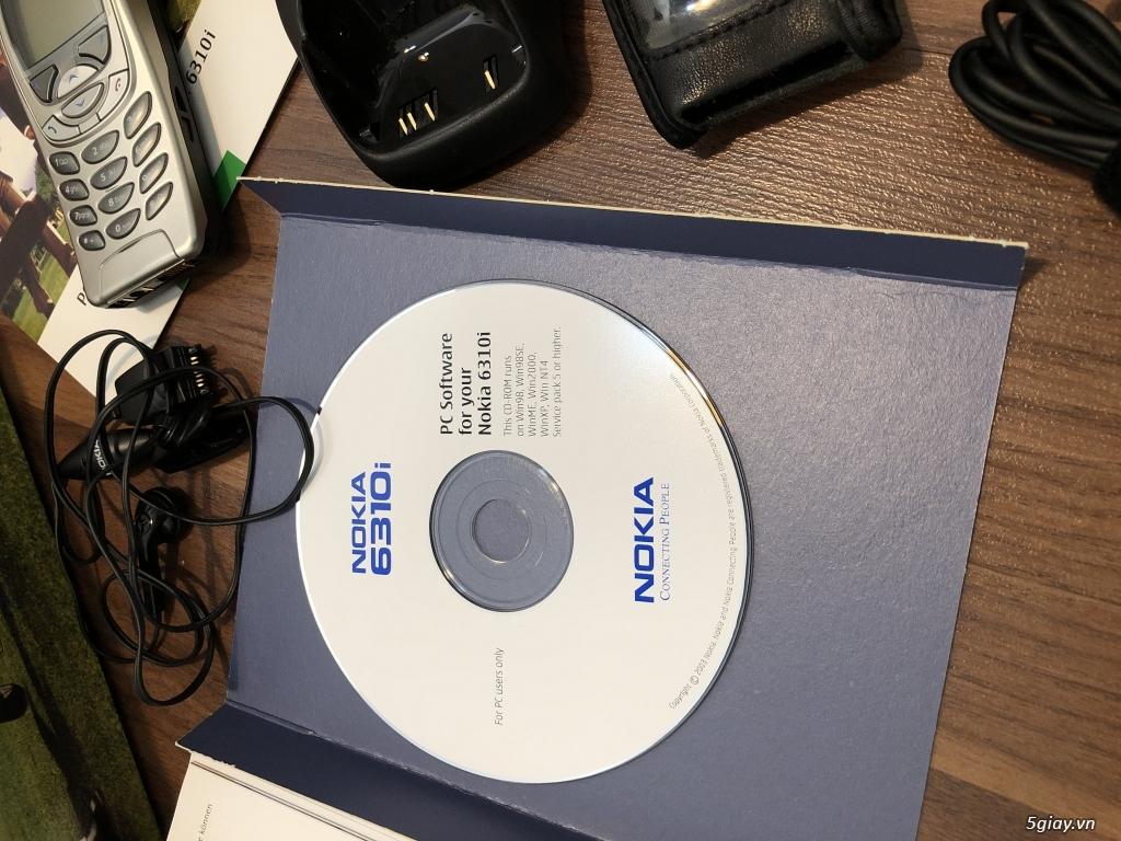Nokia 6310i Silver Germany Brandnew Fullbox chưa sd, hàng ST Kinh điển - 84