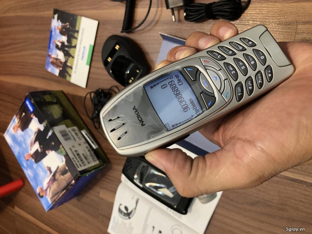 Nokia 6310i Silver Germany Brandnew Fullbox chưa sd, hàng ST Kinh điển - 64