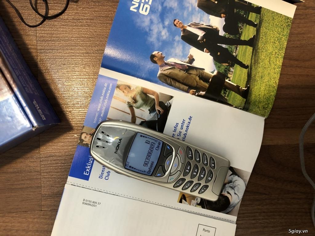 Nokia 6310i Silver Germany Brandnew Fullbox chưa sd, hàng ST Kinh điển - 48