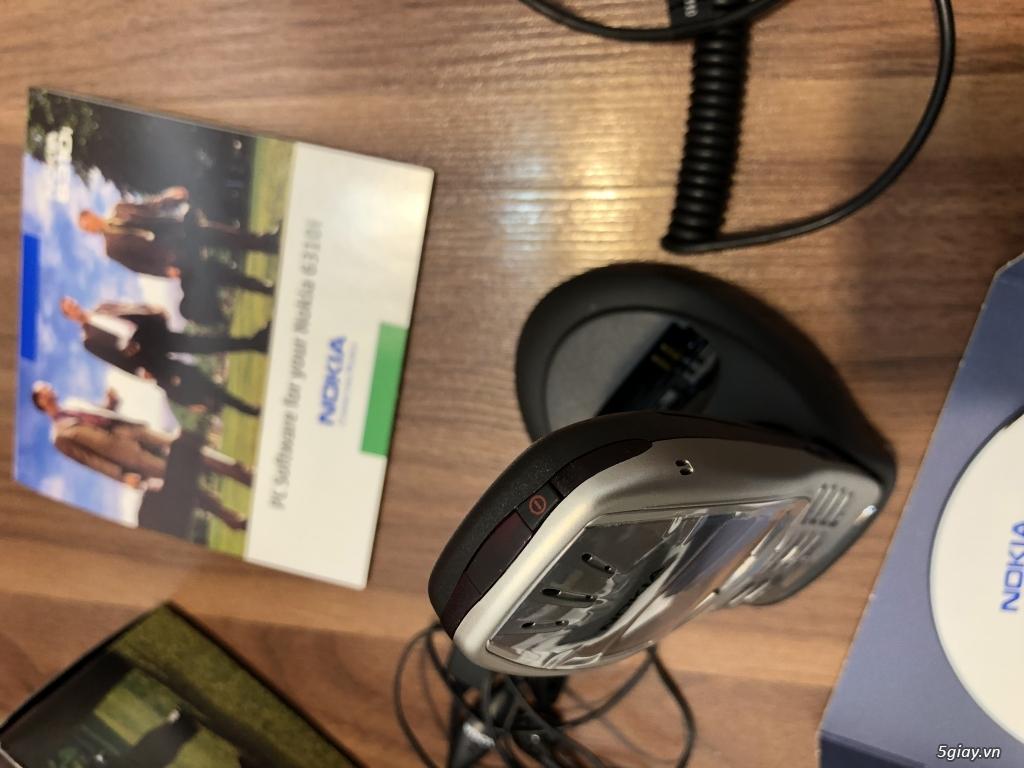 Nokia 6310i Silver Germany Brandnew Fullbox chưa sd, hàng ST Kinh điển - 32