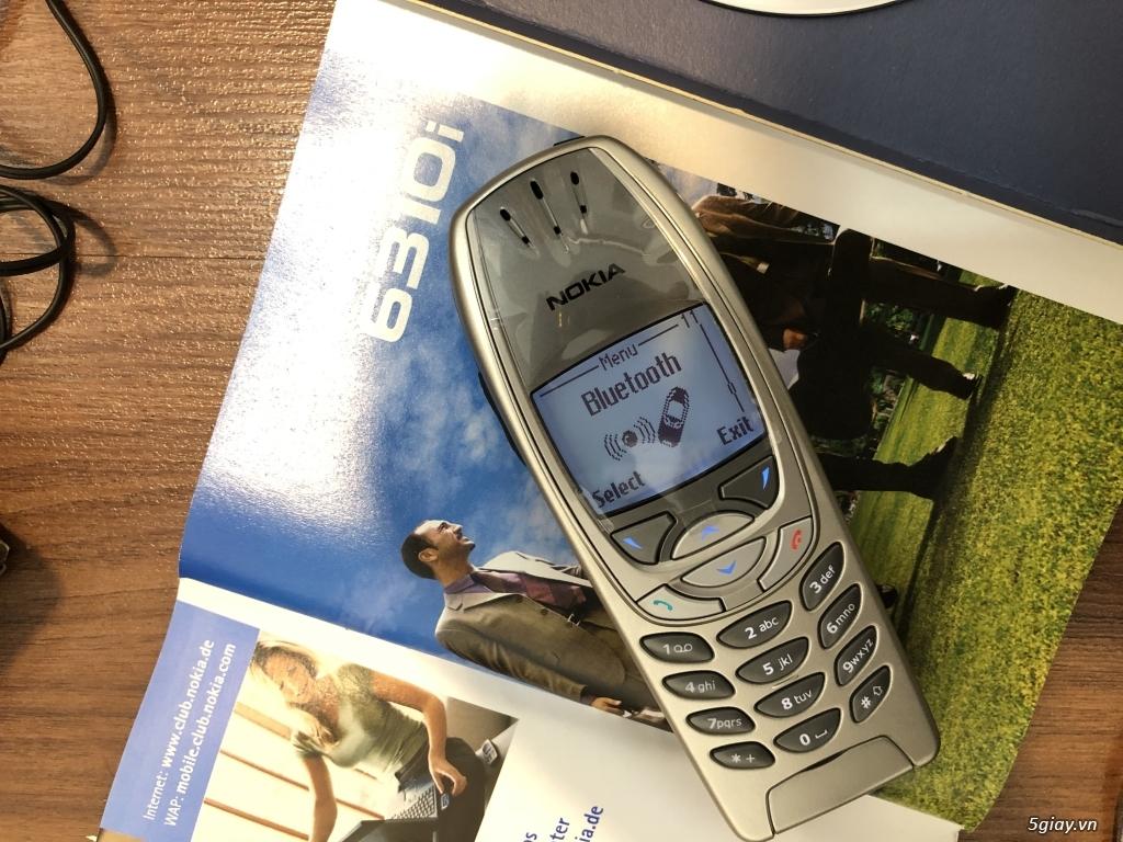 Nokia 6310i Silver Germany Brandnew Fullbox chưa sd, hàng ST Kinh điển - 30