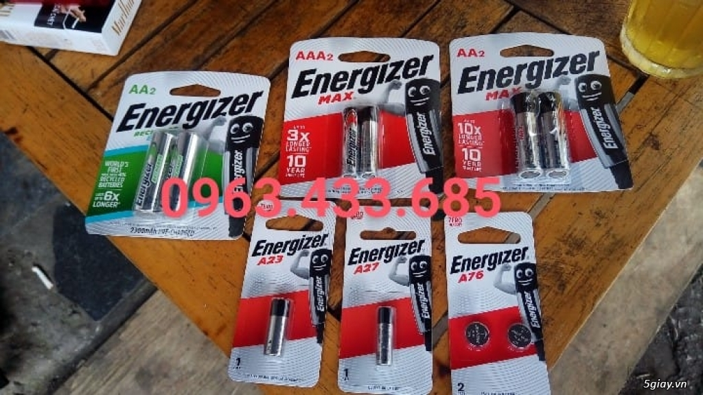Cách Nhận Biết Pin Energizer chính hãng trên thị trường - 1