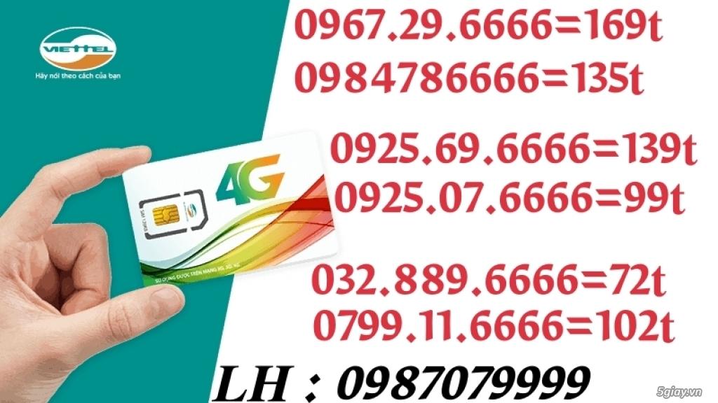 0967.29.6666 169t LH : 0987079999