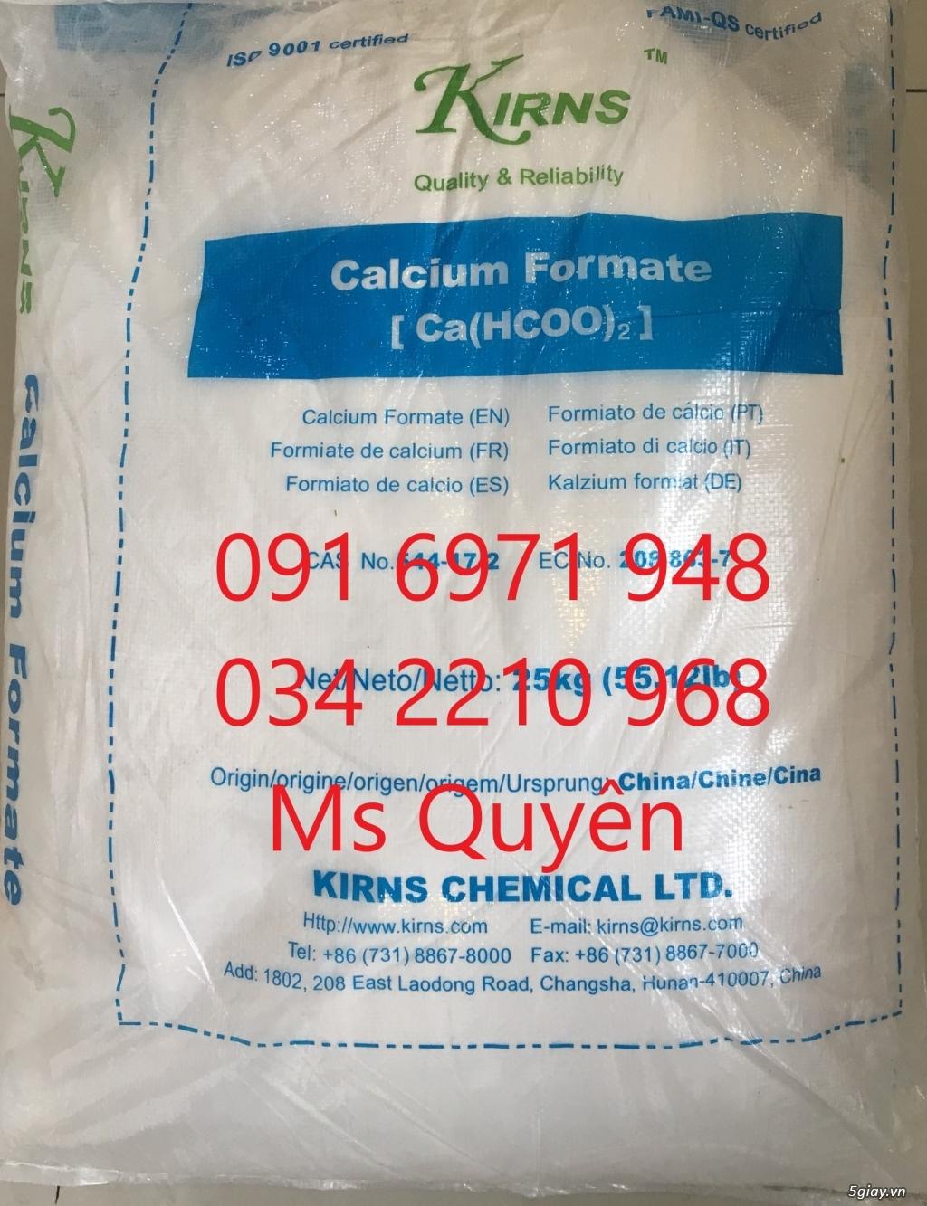 Calcium formate 98%, Ca(HCOO)2 phụ gia thức ăn