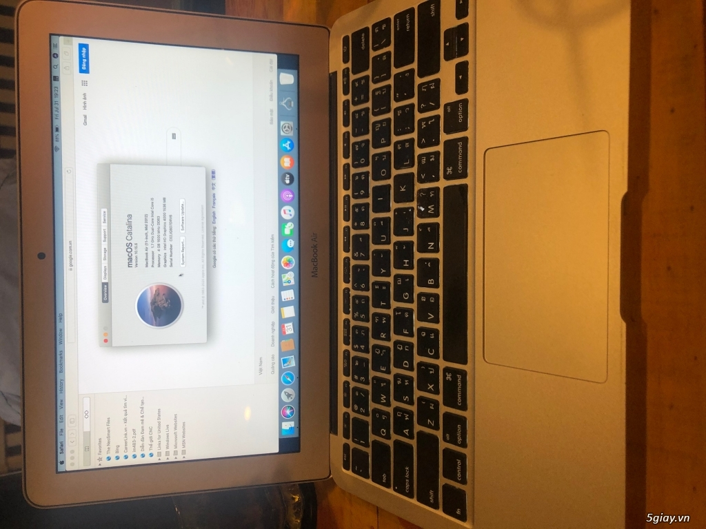 MacBook Air 2012 11 I5/Ram 4G/ SSD64 - 3