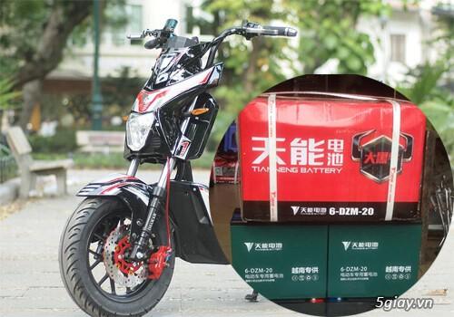 Thay ắc quy xe đạp điện Xmen tại Hà Nội